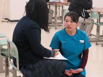 赤門鍼灸柔整専門学校のオープンキャンパス4