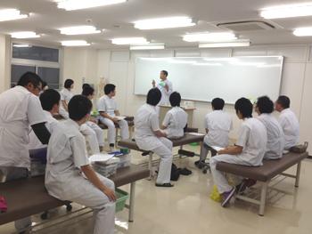 実技授業班(安斎昌弘先生・山田秀一郎先生)