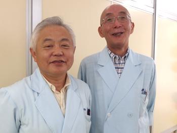 柏倉先生と山田先生