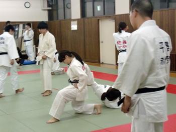 柔道実技校内試験2