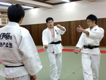 柔道実技校内試験3