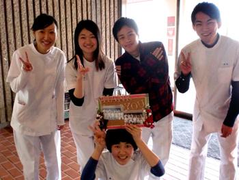川嶋先生へ感謝の気持ちを込めてプレゼント