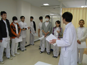 柔道整復医療科と柔道整復医療科第二部の臨床実習