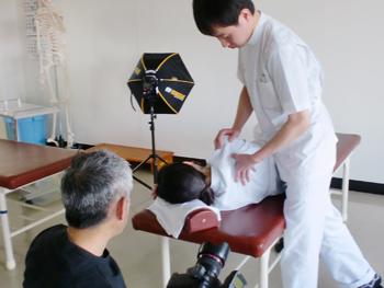 鍼灸指圧科の写真