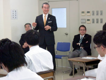 宮城県柔道整復師会会長 櫻田先生