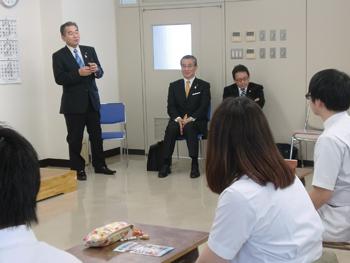 日本柔道整復師会 副会長 萩原先生