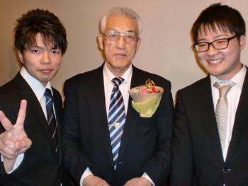 阿部先生と記念撮影