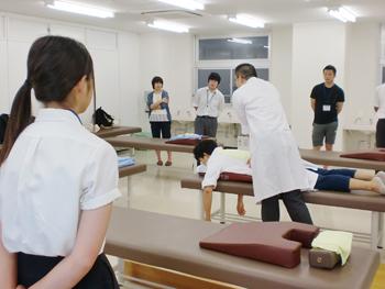仙台の赤門鍼灸柔整専門学校オープンキャンパス