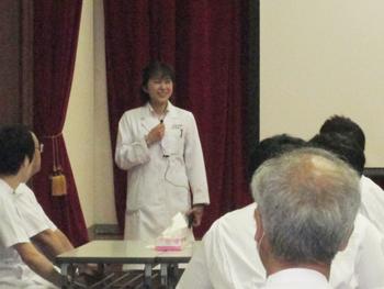 睦子先生より開始前のご挨拶