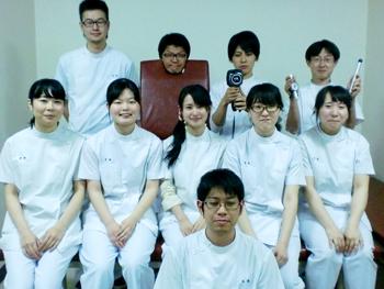 東洋療法学校協会の学術大会実験の様子3