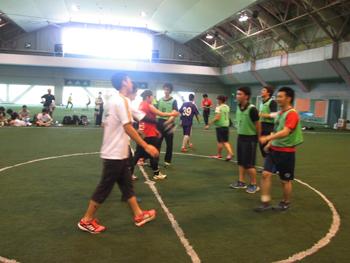 仙台の鍼灸柔整専門学校赤門球技大会開催しました