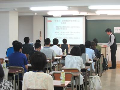 7月8日青葉山本校舎でオープンキャンパス