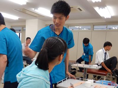 赤門鍼灸柔整専門学校オープンキャンパス_6