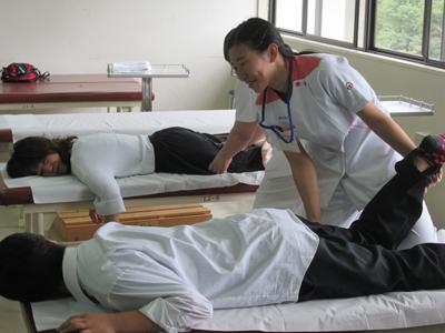 あん摩マッサージ指圧治療体験