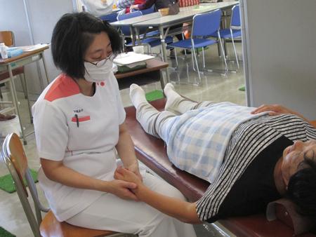 鍼灸クラブ(ハンドマッサージ、家庭でできる健康法)