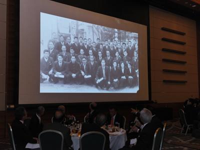 70周年記念動画「伝統の敬愛とイノベーション」上映
