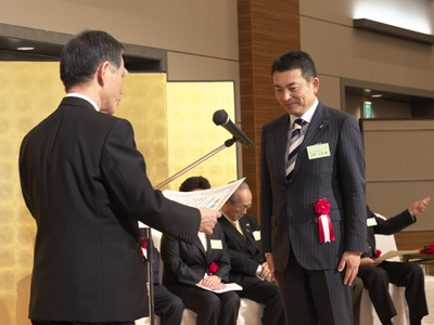 東野建設工業㈱ 代表取締役社長 東野久晃様