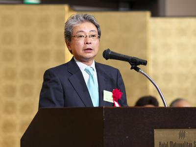 (公社)東洋療法学校協会 会長 坂本歩様